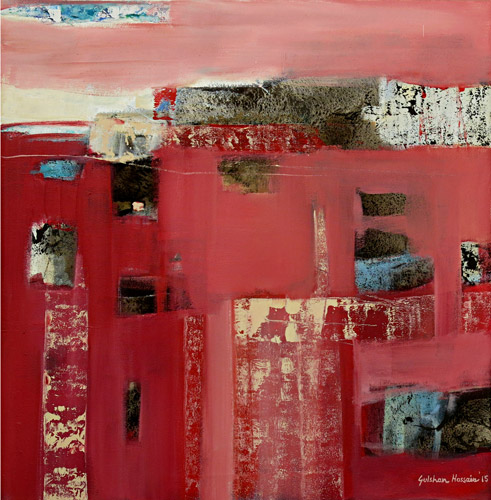Composition in Red I